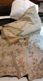 Sale 8568A - Lot 147 - A new king size European doona, together with two bespoke European king size bed covers