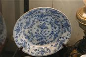 Sale 7874 - Lot 92 - C19th Dutch Delft Blue & White Tin Glazed Plate