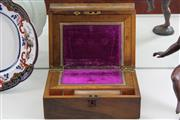 Sale 7998 - Lot 59 - Victorian Fruitwood Writing Slope