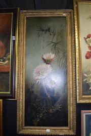 Sale 8410T - Lot 2033 - Artist Unknown (XX) - Floral Still Life 97 x 37cm