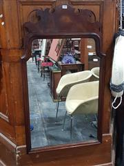 Sale 8826 - Lot 1083 - Carved Timber Framed Wall Mirror