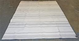 Sale 9188 - Lot 1508A - Outdoor rug by Dash & albert in grey & white tones ( 345 x 254cm)