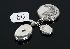 Sale 3724 - Lot 86 - THREE STERLING SILVER LOCKETS, ONE STONE SET.