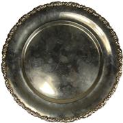 Sale 8008 - Lot 32 - Egyptian Silver Dish