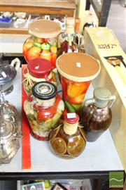 Sale 8478 - Lot 2263 - Box of Decorative Preserved Fruit (not for consumption)