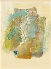 Sale 8565A - Lot 5105 - Michael Noble (1919 - 1993) - Abstract, 1968 52 x 38cm