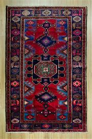 Sale 8585C - Lot 77 - Persian Hamadan 215cm x 135cm