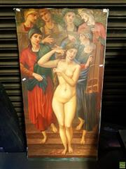 Sale 8640 - Lot 2082 - Artist Unknown - The Maiden, Large Oil