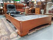 Sale 8688 - Lot 1046 - Parker Sleigh Bed