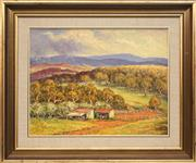 Sale 8779 - Lot 2032 - W Livingstone - The Little Murray Valley, Dorrigo Plateau 35 x 45cm