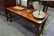 Sale 8159 - Lot 1030 - Timber Coffee Table