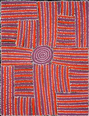 Sale 8309 - Lot 511 - Walala Tjapaltjarri (1960 - ) - Tingari 95 x 70cm (framed & ready to hang)