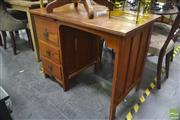 Sale 8323 - Lot 1099 - Single Pedestal Desk