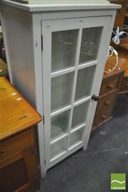 Sale 8418 - Lot 1041 - White Painted Display Cabinet