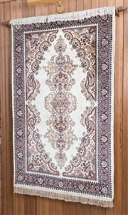 Sale 8515A - Lot 85 - A Persian carpet with boteh motif on a cream ground, 160 x 90cm