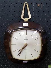 Sale 8607 - Lot 1070 - Junghans Electora Wall Clock
