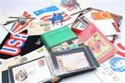 Sale 8701 - Lot 315 - Mostly Stamps And Firstday Covers