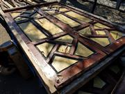Sale 8839 - Lot 1373 - Pair of Timber Window Inserts
