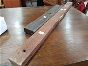 Sale 8834 - Lot 1093 - Pair of Vintage Timber Levels