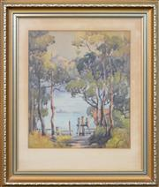 Sale 8282A - Lot 73 - Winifred Caddy (1884 - ? ) - Lane Cove 33 x 29cm