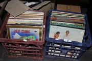 Sale 8346 - Lot 2304 - 2 Crates of Records