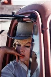 Sale 8545A - Lot 5032 - Eve Arnold (1912 - 2012) - Marilyn Monroe: Filming The Misfits, 1960 32 x 48cm (mount size: 72 x 54cm)