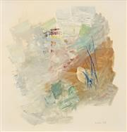 Sale 8573 - Lot 2018 - Michael Noble (1919 - 1993) - Abstract, 1968 40 x 38cm