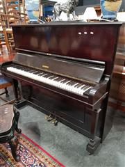 Sale 8697 - Lot 1063 - Schonberg Upright Piano