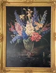 Sale 9044J - Lot 81 - Carl Hampel - Still Life 80x60cm,