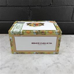 Sale 9079W - Lot 830 - Romeo y Julieta Cazadores Cuban Cigars - box of 25, stamped August 2017