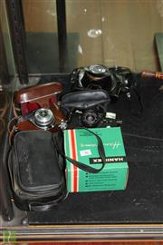 Sale 8256 - Lot 96 - Kodak Camera with Others incl Yashica