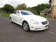 Sale 8332B - Lot 2 - Lexus SC430 convertible 4.3 litre V8