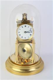 Sale 8783 - Lot 65 - A Dome Cased Clock (A.F)