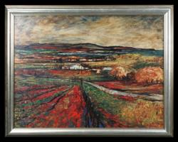 Sale 7923 - Lot 535 - George Feather Lawrence - Landscape 68 x 90cm