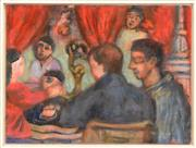Sale 8257A - Lot 97 - Kate Dorrough (1954 - ) - The Parlour Cafe, NY, 2001 29 x 36.5xm