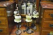 Sale 8341 - Lot 1006 - Set of Four Table Lamps
