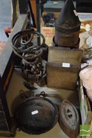 Sale 8530 - Lot 2176 - Smoker Irons etc