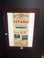 Sale 8645 - Lot 2093A - Titanic Memorabilia