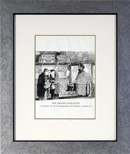 Sale 9118 - Lot 2094A - Graham Laidler (1908 - 1932) (14 works) - The British Character Series (from Punch Magazine) 50 x 43 cm (13), 32 x 32 cm (1), (frame...
