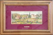Sale 8973 - Lot 2013 - Renzo Paoletti Tuscan Landscape oil on board, 33 x 50cm (frame), signed lower left