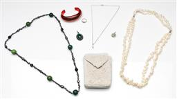 Sale 9190 - Lot 74 - A collection of jewellery including sterling silver items