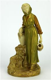Sale 8130 - Lot 83 - Royal Worcester Figure of a Water Carrier