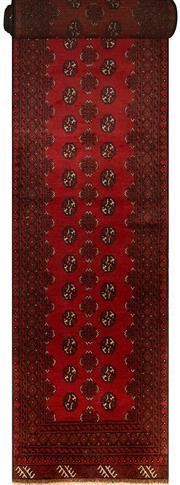 Sale 8406C - Lot 27 - Afghan Turkman Runner 560cm x 80cm