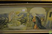 Sale 8461A - Lot 2033 - Framed Religious Print