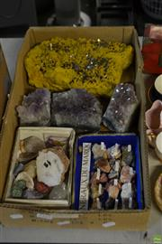Sale 8563T - Lot 2316 - Box of Various Crystals