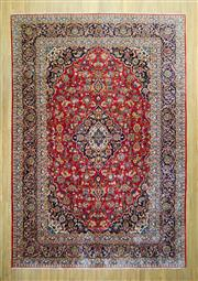 Sale 8589C - Lot 17 - Persian Kashan, 425x295
