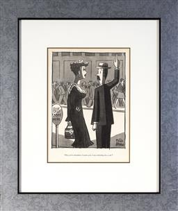 Sale 9113 - Lot 2073 - Peter Arno (1904 - 1968) (13 works) - Cartoons From the New Yorker frame: 50 x 43 cm (each)