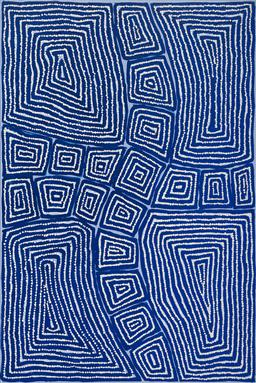 Sale 9148A - Lot 5060 - THOMAS TJAPALTJARRI (c1964 - ) Tingari, 2012 acrylic on canvas 90 x 60 cm (stretched and ready to hang) certificate of authenticity